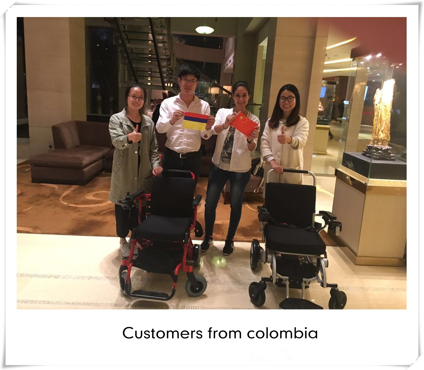 customers from colombia